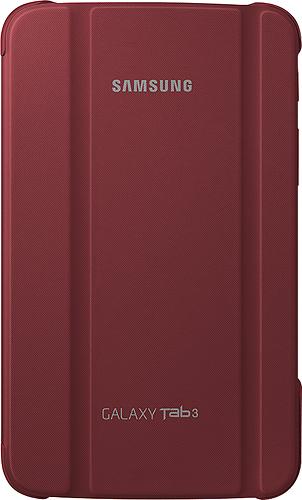 Samsung - Book Cover for Samsung Galaxy Tab 3 7.0 - Garnet Red