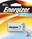 Energizer - Advanced Lithium 9V Battery - Silver
