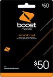 Boost Mobile - $50 Re-Boost Card
