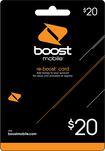 Boost Mobile - $20 Re-Boost Card