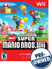 New Super Mario Bros. Wii — PRE-OWNED - Nintendo Wii