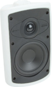 Niles - OS5.3 2-Way Indoor/Outdoor Speakers (Pair) - Black/White