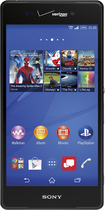 Sony - Xperia Z3V 4G LTE Cell Phone - Black (Verizon Wireless)