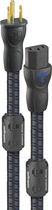 AudioQuest - NRG-4 3' AC Power Cable - Gray/Black/Blue