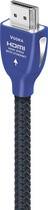 AudioQuest - Vodka 4.9' HDMI Cable - Blue/Black