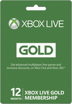 Microsoft - Xbox Live 12 Month Gold Membership - Green