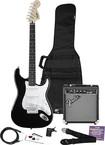 Fender® - SQUIER® SE Special Strat Pack with Amp - Black