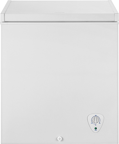 Frigidaire - 5.0 Cu. Ft. Chest Freezer - White