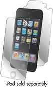 ZAGG - InvisibleSHIELD Full Body Protector for 4th-Generation Apple® iPod® touch - Clear