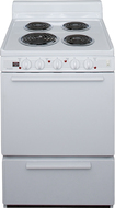 "Premier - 24"" Freestanding Electric Range - White"