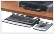 Fellowes - Office Suites Adjustable Keyboard Tray - Black