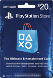 Sony - $20 PlayStation Network Card - Blue