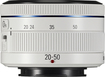 Samsung - 20-50mm F/3.5-5.6 Zoom Lens For Most Samsung Nx Cameras - White
