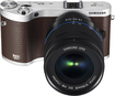 Samsung - NX300 Compact System Camera with 18-55mm Lens - Brown