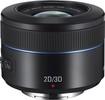 Samsung - 45mm f/1.8 2D/3D Lens for Most Samsung NX Cameras - Black