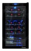 Vinotemp - 29-Bottle Wine Cooler - Black