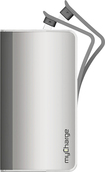 myCharge - Hub 9000 Rechargeable Power Bank - Silver
