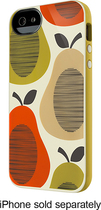 Belkin - Orla Kiely Case for Apple® iPhone® 5 and 5s - Fruit Orange
