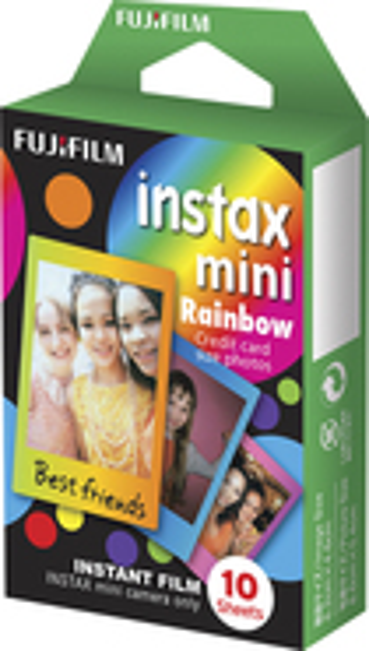 Fujifilm - Instax Mini Rainbow Instant Film
