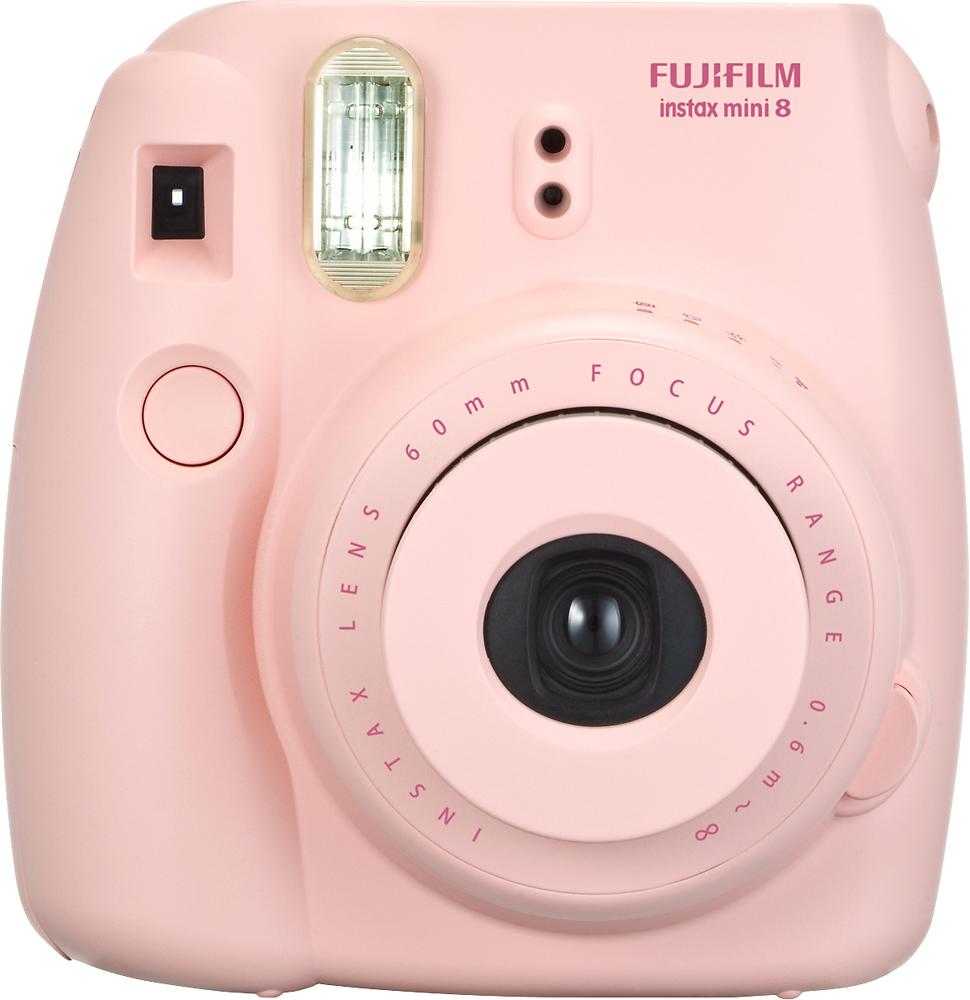 Fujifilm - instax mini 8 Instant Film Camera - Pink