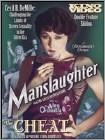 Manslaughter/The Cheat (DVD) (Black & White)