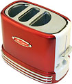 Nostalgia Electrics - Pop-Up Hot Dog Toaster - Red