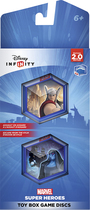 Disney - Disney Infinity: Marvel Super Heroes (2.0 Edition) Toy Box Game Discs - Multi