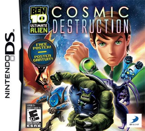 Ben 10 Ultimate Alien: Cosmic Destruction - Nintendo DS