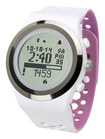 LifeTrak - Brite R450 Activity Monitor - White/Orchid