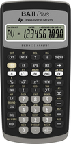 Texas Instruments - BA II PLUS Financial Calculator