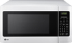 LG - 1.1 Cu. Ft. Mid-Size Microwave - Smooth White