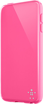 Belkin - Grip Neon Glo Case for Apple® iPod® touch 5th Generation - Pink