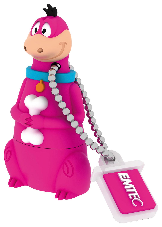 Emtec - The Flintstones 8GB USB 2.0 Flash Drive - Purple