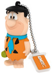 Emtec - The Flintstones 8GB USB 2.0 Flash Drive - Orange/Blue/Black
