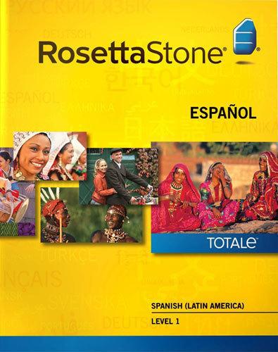 Rosetta Stone TOTALe: Spanish (Latin America) Level 1 - Mac|Windows