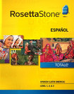 Rosetta Stone TOTALe: Spanish (Latin America) Level 1 – 3 Set - Mac|Windows