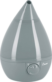 Crane - 1-Gal. Ultrasonic Drop-Shape Humidifier - Gray