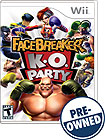 FaceBreaker K.O. Party — PRE-OWNED - Nintendo Wii