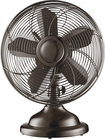 "Insignia™ - 12"" Retro Table Fan - Copper"