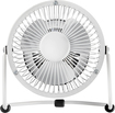 "Insignia™ - High-Velocity 4"" Mini Fan - White"