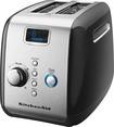 KitchenAid - 2-Slice Wide-Slot Toaster with Motorized Lift - Black