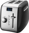 KitchenAid - 2-Slice Wide-Slot Toaster - Black