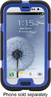 Griffin Technology - Survivor Extreme-Duty Case for Samsung Galaxy S III Cell Phones - Black/Blue