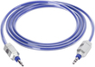 Griffin Technology - Survivor AUX 4' Auxiliary Audio Cable - Blue