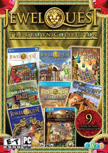 PC-JEWEL QUEST: THE CROWN...