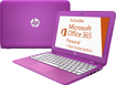 "HP - Stream 11.6"" Laptop - Intel Celeron - 2GB Memory - 32GB Flash Storage - Orchid Magenta/Tulip Purple/Lily Pink"