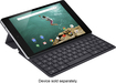 HTC - Keyboard Folio Case for Google Nexus 9 Tablets - Black