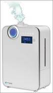 Pureguardian - 1.3-gal. Ultrasonic Warm And Cool Mist Humidifier - White 1387123