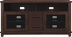 "Bell'O - A/V Cabinet for Most Flat-Panel TVs Up to 60"" - Chocolate"
