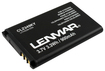 Lenmar - Lithium-Ion Battery for Most Kyocera Mobile Phones - Black